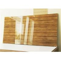 China High Gloss Flexible Clear Acrylic Sheet acrylic laminated mdf board on sale