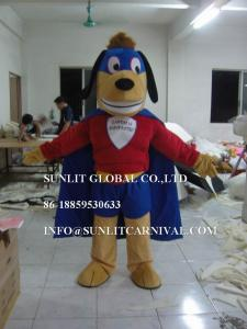 China super muscle dog mascot costume, advertising dog mascot costume on sale