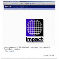 Windows XP / 7 OS Volvo Vcads Impact Spare Parts Catalog For Trucks Buses