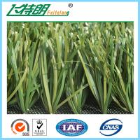 Apple Green Artificial Turf Grass / Laying Synthetic Grass Artificial Lawn Turf