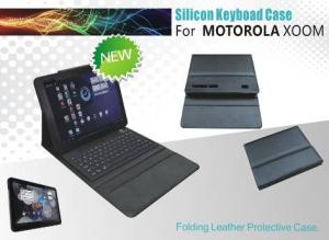 China Bluetooth Flexible Usb keyboard for MOTOROLA XOOM with silicone on sale