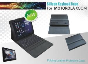 China Bluetooth Flexible Usb keyboard for MOTOROLA XOOM with silicone on sale