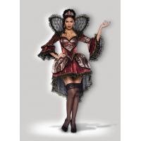 Halloween Women Costumes Wonderland Queen 8046 Wholesale from Manufacturer Directly