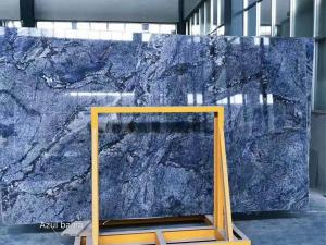China Smooth Surface Natural Stone Slabs High Strength Marble Raw Material on sale