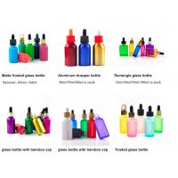 China 1oz 50ml Cosmetic Glass Bottles With Glass Pipette For Essential Oil  OEM on sale
