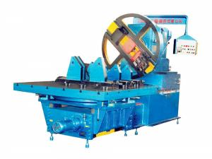 China 15 KW High Productivity Pipe Cutting And Beveling Machine Band Saw Machine on sale