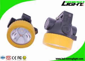 China High Brightness Camping, Hunting, Hiking Headlight Coal Mining Lights Cordless Led Cap Lamp on sale