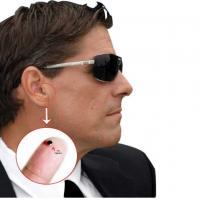 Bluetooth Non Magnetic Translucent 305 Tiny Earphone Wireless In-Ear Micro Earpiece Factory Wholesale spy Earpiece