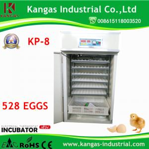 China KP-8 model 528 Eggs CE Certificate Automatic Chicken Egg Incubator hot sale in 2017 on sale