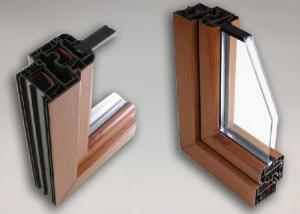 China High Performance Aluminium Window Profiles , Anodized Aluminium Edge Profile on sale