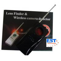 Vibrating Alarm Wireless Bug Camera Detector , IR Ray Specially Filtrated Len