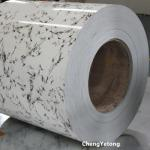Stone Grain Antimicrobial Prepainted Galvalume Coil For Bathroom Decoration