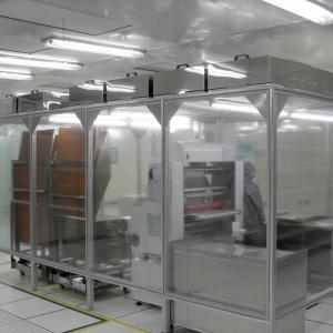 China Class 100 Laminar flow Clean room, ISO5 clean room on sale