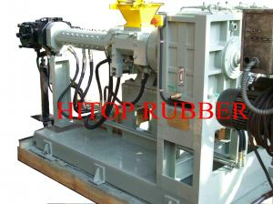 China Pin-barrel cold feed rubber extruder on sale