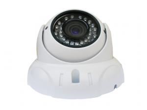 China Wide Angle Vandal-proof Dome HD CCTV Cameras NTSC / PAL Built-in O.S.D on sale