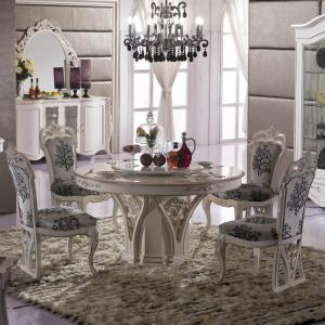 China High quality dining room set/Solid wood dining table on sale