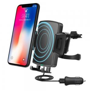 China Car Phone Mount, Car Phone Holder, Fast Wireless Car Charger for Car Dashboard Windshield 360 Degree Rotation for iPhon on sale