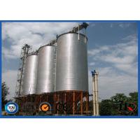 777m3 Bulk Material Cereal Silo Machine For Grain And Feed Customized Color