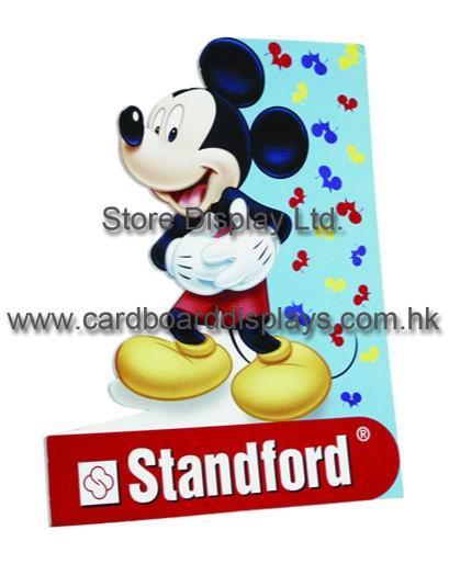 Standford 4C offset printing Standee Display Racks for