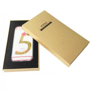 China White Cardboard Kraft Iphone Case Packaging Glossy Lamination Or Matt Lamination on sale