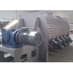 High Speed Powder Ploughshear Mixer , Jacketed Ribbon Blender With Hot Water Injection