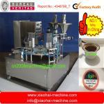 Tipo rotatorio máquina de relleno del lacre del polvo del café de la K-taza