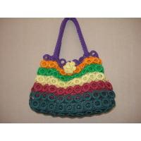 Multicolour Bag purse tote Crochet WOmen Bag handbag fashion shoulder bag flower bag