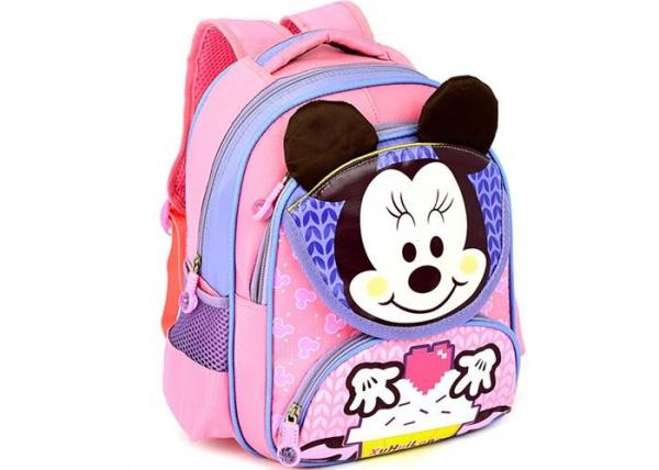 1680D Polyester Mickey Mouse School Bag Personalized Cute Toddler Backpacks Images
