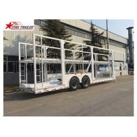 China Rust - Proof Protection Car Carrier Trailer Wth LED Electrical System on sale