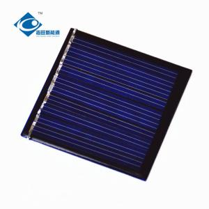 China 0.27W Peak Power High Efficiency Solar Cells ZW-4545 Customized Epoxy Resin Solar Panel cheapest solar panel on sale