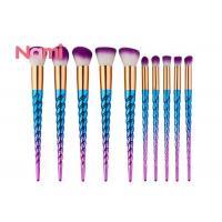 Nylon Hair Powder Face Makeup Brushes Private Logo Eyes / Face Application