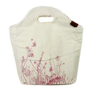 China Washable Elegant Reusable Canvas Shopping Bags With Customized Logo For Advertisement on sale