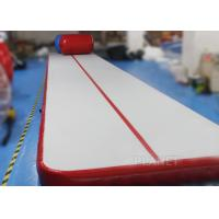 Safety Inflatable Air Tumble Track DWF / Drop Stitch Material For Gymnastics
