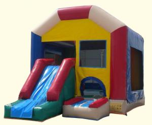 China 3n1 Combo Inflatble Playhouse Slide on sale