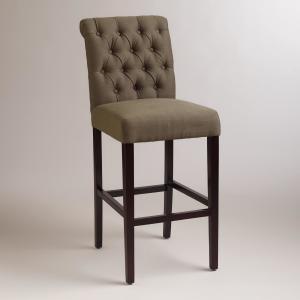 China International Environmental Standard Restaurant Dining Room Chairs / Fabric Bar Stools on sale