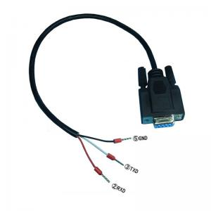 China DB9 Female RS232 485 Serial RXD TXD GND Port to 3-pin Terminals Exapansion Cable on sale