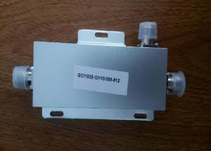 China UHF 300-500MHz 6dB Directional Coupler Sliver Color With N Female Connectors on sale