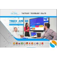 Compatible large touch screen monitor , interactive touchscreen display  low radiation