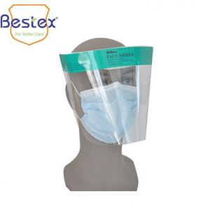 China Anti Fog Latex Free Transparent APET Antiviral Face Shield on sale