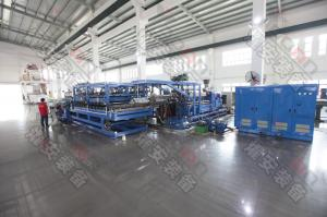 China High Quality Flat T-Die Extrusion PP PE EVA Spundbond Nonwoven Polyester Fabric Coating Machine on sale