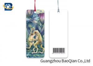 China Deep Effect 3D Lenticular Bookmark Animal Frog Image Printing Free Sample on sale