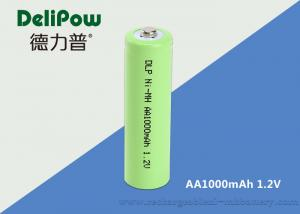 China AA 1.2V NIMH Rechargeable Battery 1000mAh For Toy / Power Tools on sale