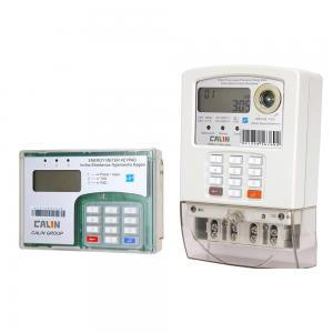 China Micro Grid STS Single Phase Power Meter Prepayment Keypad Electricity Meter With  RF Communication on sale