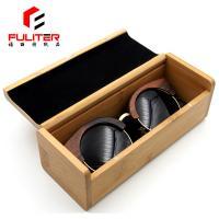 Custom Logo Wooden Gift Box Bamboo Packaging Boxes For Eyeglasses