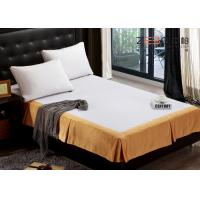 Fashion Design Hotel Bed Skirts / Adjustable Bed Skirt Multi Color