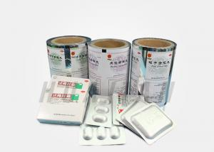 China Medical Lamination Foil Packaging Aluminum Plastic Films Roll on sale