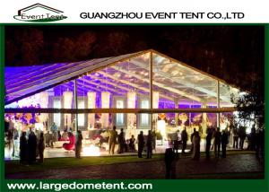 China Aluminum Alloy 6061-T6 Frame Big Outdoor Trade Show Tents 30x60m For 1200 Peoples on sale