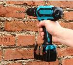 High Speed Transmission 21V Cordless Drill Screwdriver For Wood / Steel / Concrete