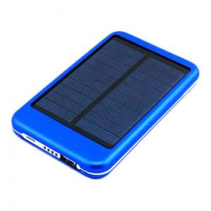China 5,000mAh Solar USB Mobile Phone Charger for iPhone 5S/4S, Samsung, HTC, Nokia and Digital on sale