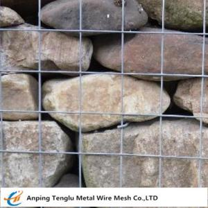 China Hot Dipped Galvanized Gabion Mesh Cells|Square or Rectangular Mesh Hole on sale